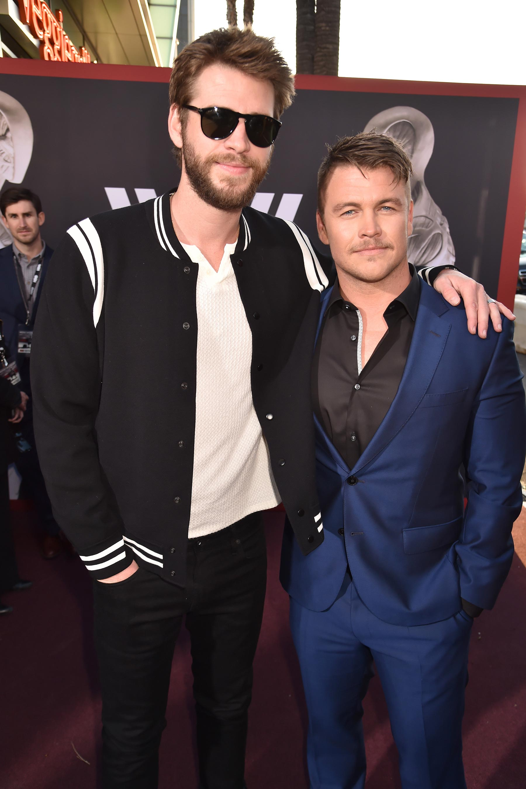Liam Hemsworth és Luke Hemsworth