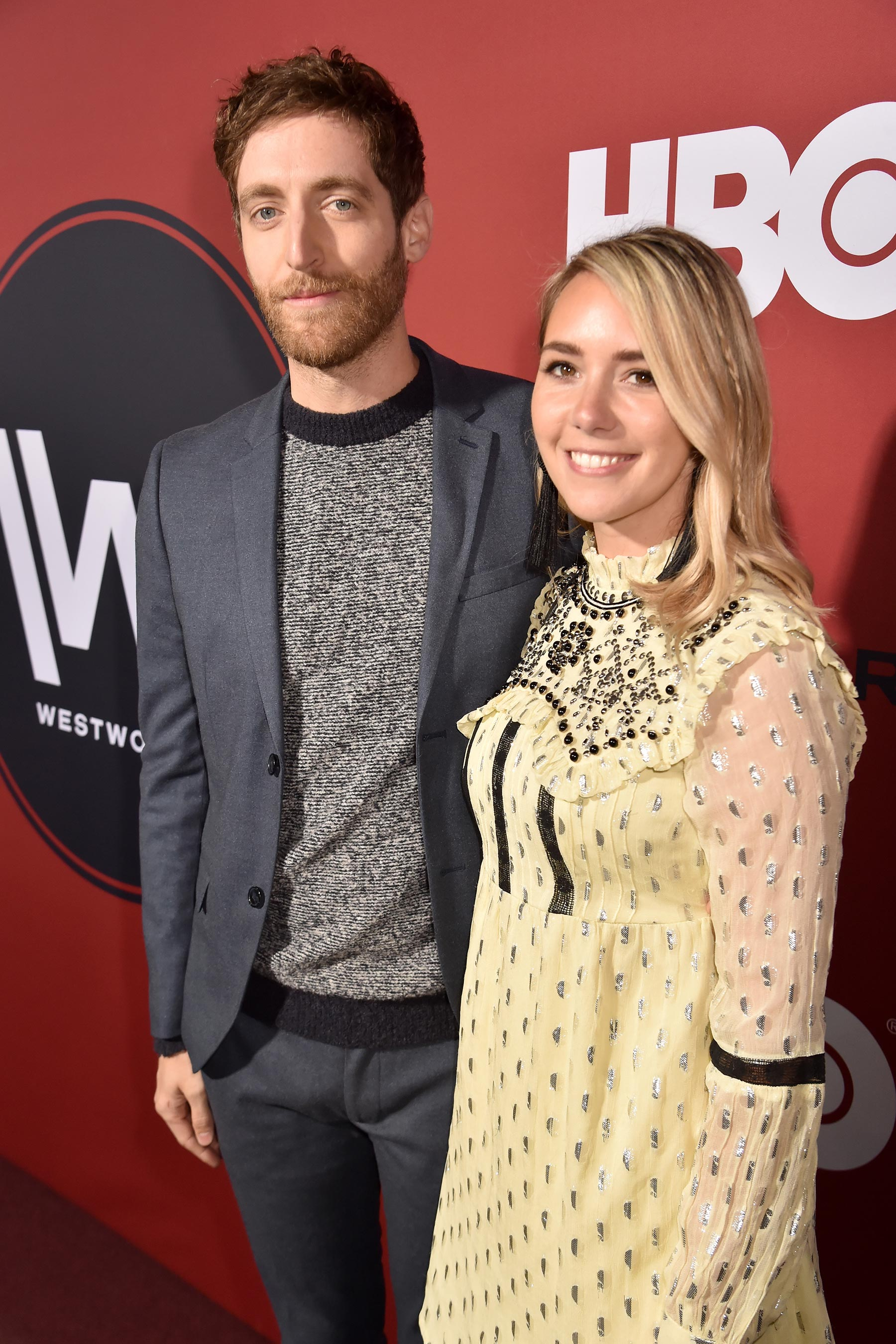 Thomas Middleditch és Mollie Gates
