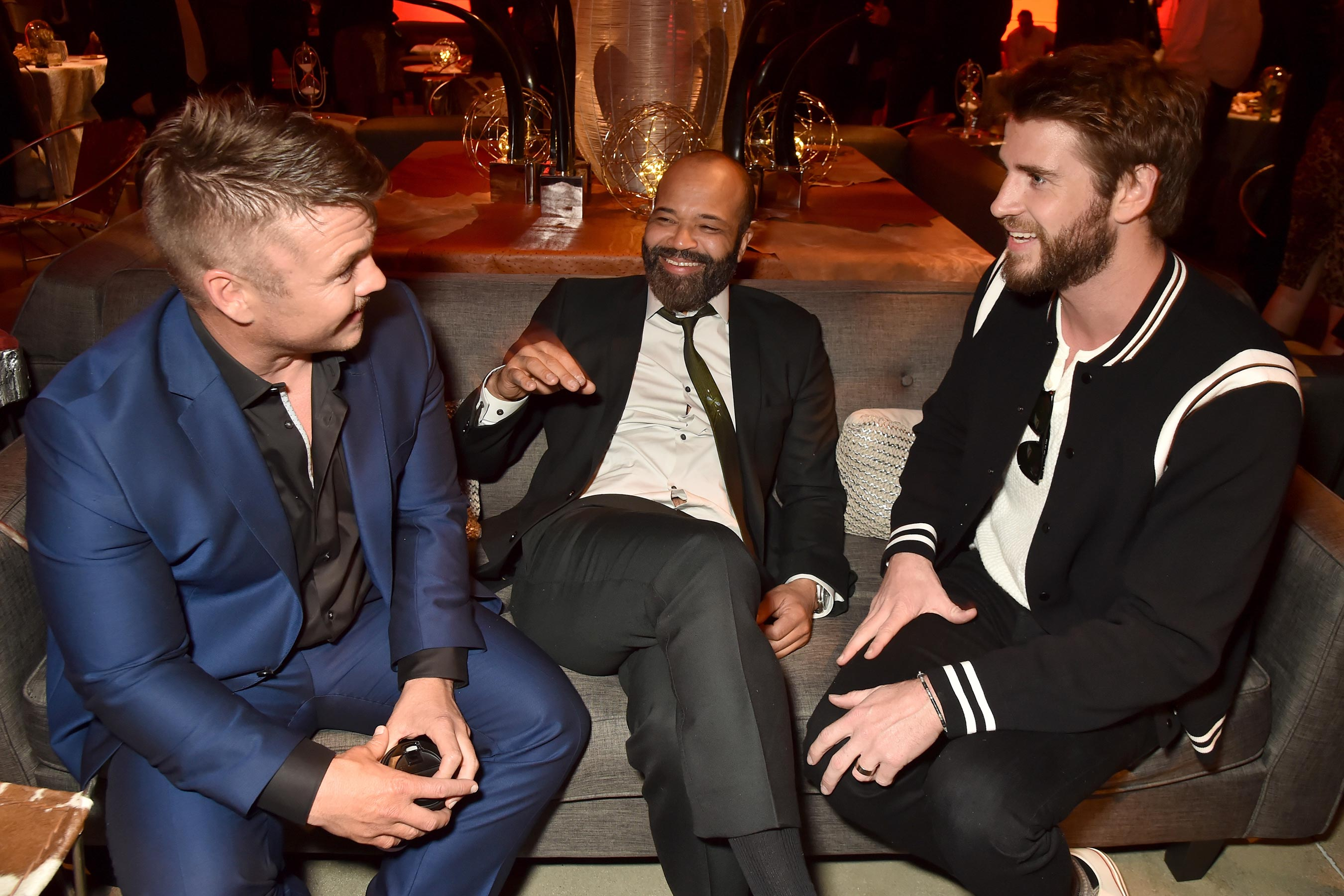 Luke Hemsworth, Jeffrey Wright és Liam Hemsworth