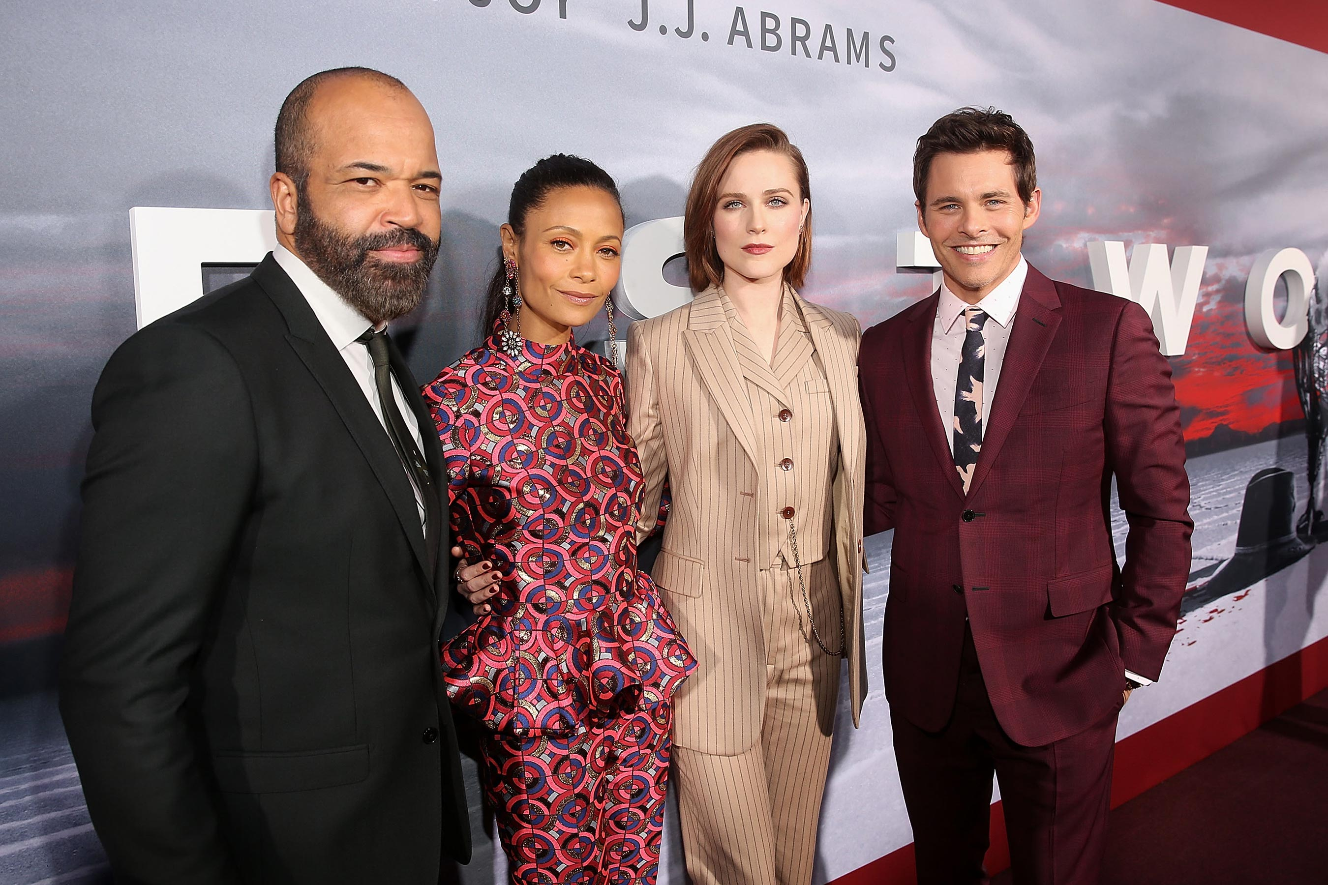 Jeffrey Wright, Thandie Newton, Evan Rachel Wood és James Marsden