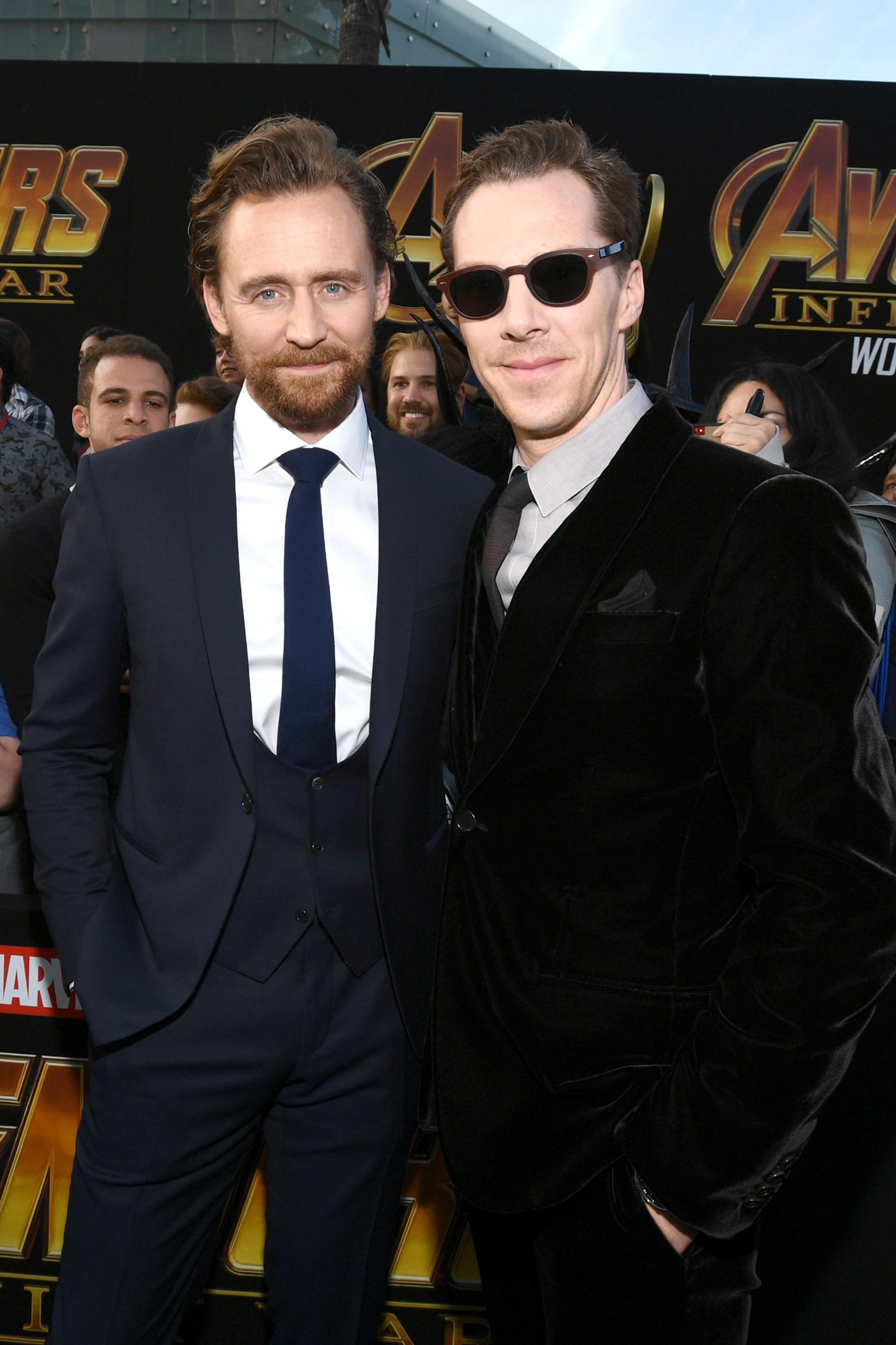 Tom Hiddleston és Benedict Cumberbatch
