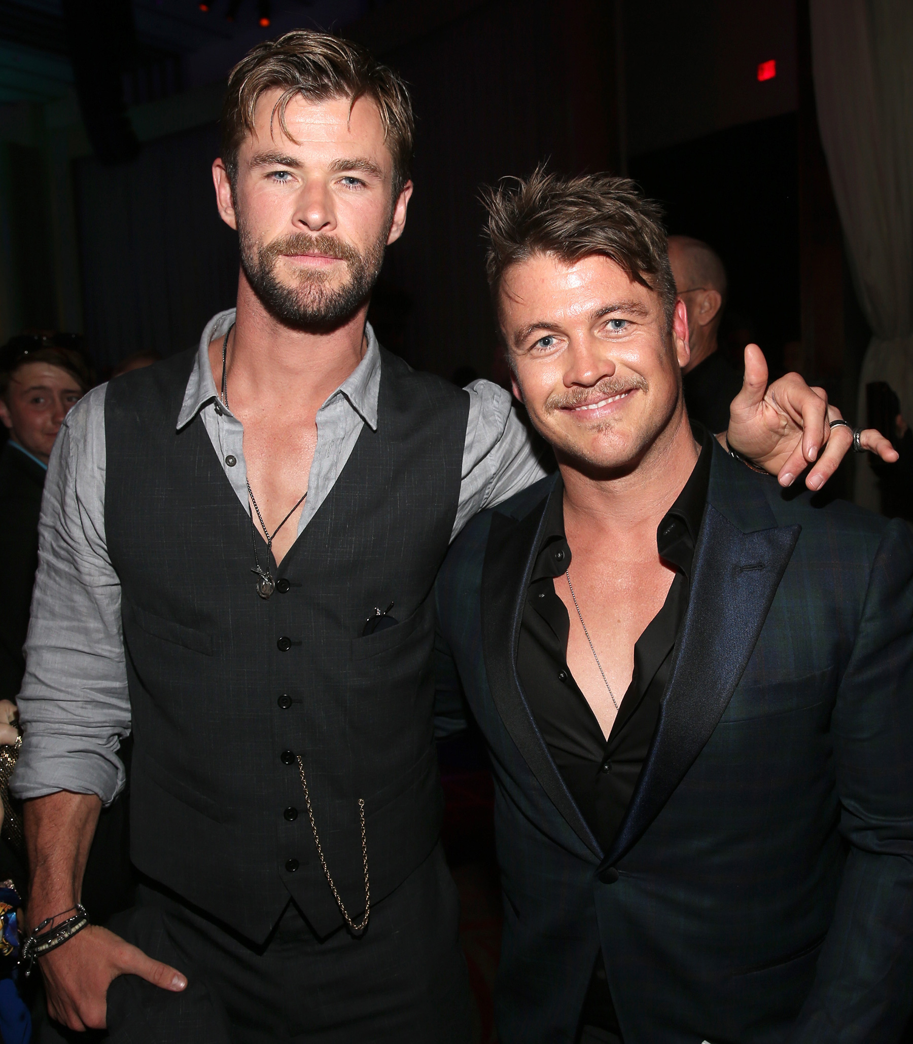 Chris Hemsworth és Luke Hemsworth