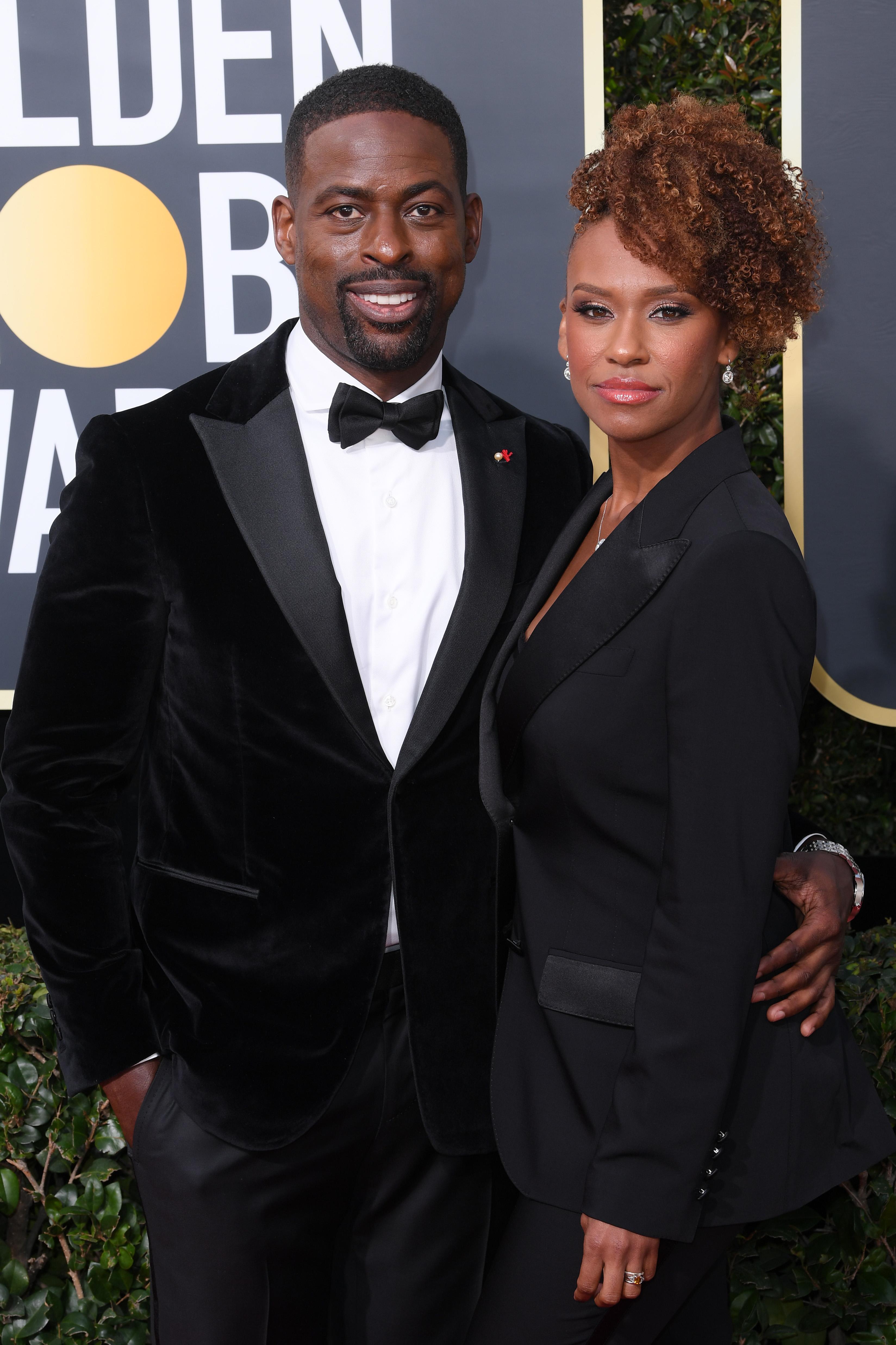 Sterling K. Brown ('Rólunk szól') és felesége, Ryan Michelle Bathe
