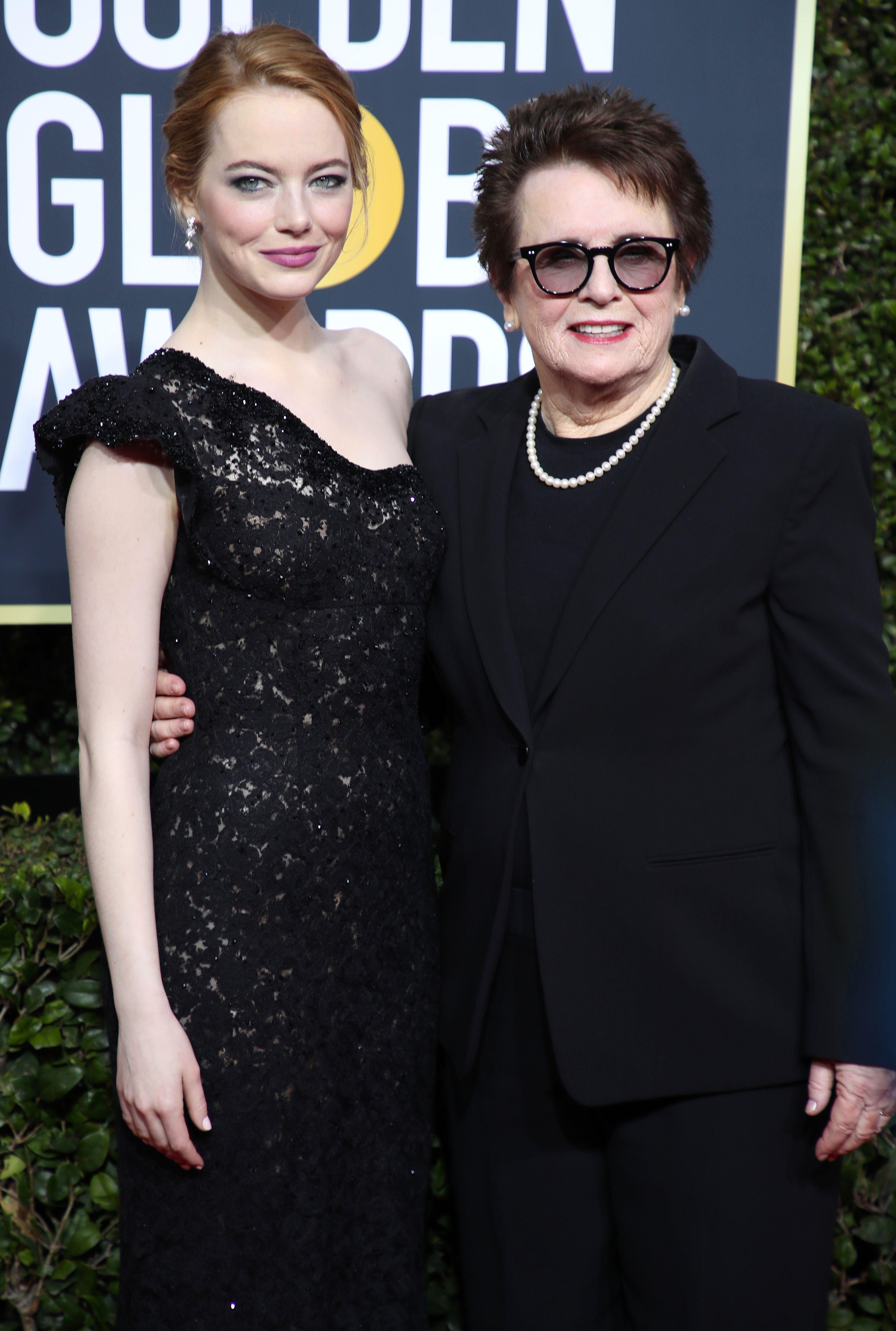Emma Stone és Billie Jean King