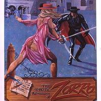A Zorro pornóparódiájának posztere
