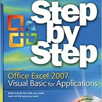 Microsoft® Office Excel® 2007 Visual Basic® For Applications Step By Step Mobi Download Book