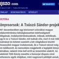 A Tsúszó Sándor-projektum