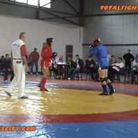 Halmi Viktor nyerte az első román Kombat Szambo versenyt
