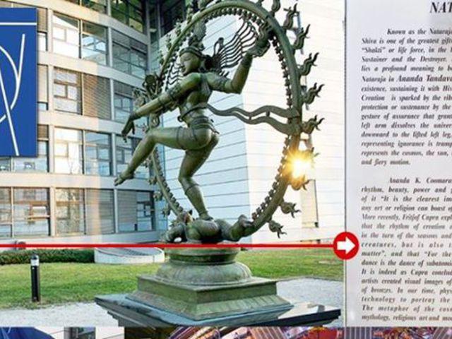 Miért van Siva-szobor a világ legnagyobb fizikai kutatóintézeténél, a CERNnél?