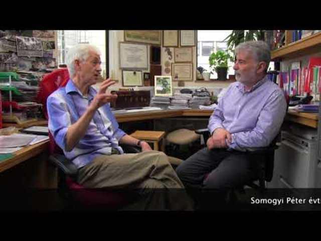 Vendégségben Somogyi Péter világhírű agykutatónál Oxfordban (videó)