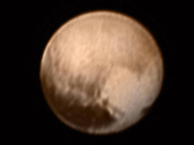 """""""Szív küldi"""" a Plútótól - a bolygóhoz közeledő New Horizons űrszonda képe"""