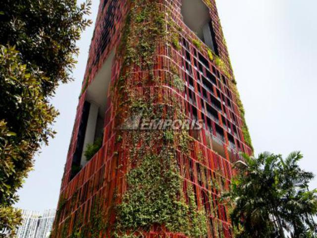 Megépült az ökoszisztéma-felhőkarcoló Szingapúrban