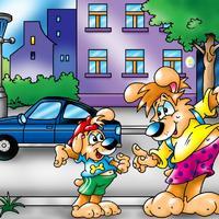 Biztonságosan közlekedő kutyák