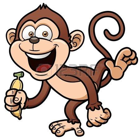 19552797-illustration-of-cartoon-monkey-with-banana