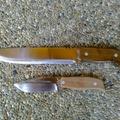 Túlélőkés készítés 4. rész, az elkészült kés