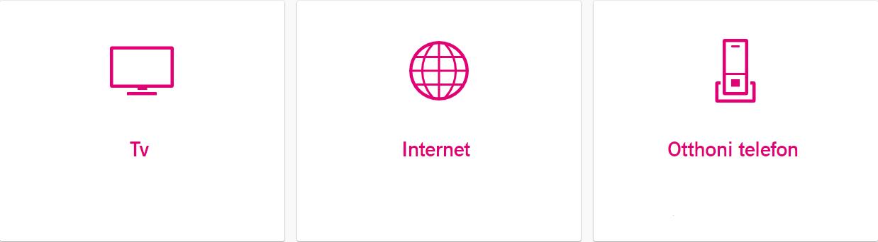 Telekom otthoni szolgáltatások (TV, internet, telefon