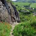 Vulkánok romjain az Ajnácskői-hegységben