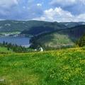 Nyári látványkör a Szlovák Paradicsom déli részén