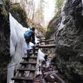 Jeges-vizes izgalmak a Szlovák Paradicsomban