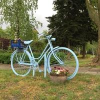 A biciklik és virágok faluja: Tázlár
