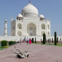 Ilyen élőben a Taj Mahal - utazás Indiába
