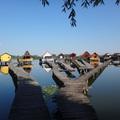 A Bokodi-tó és az úszó falu picit másképp