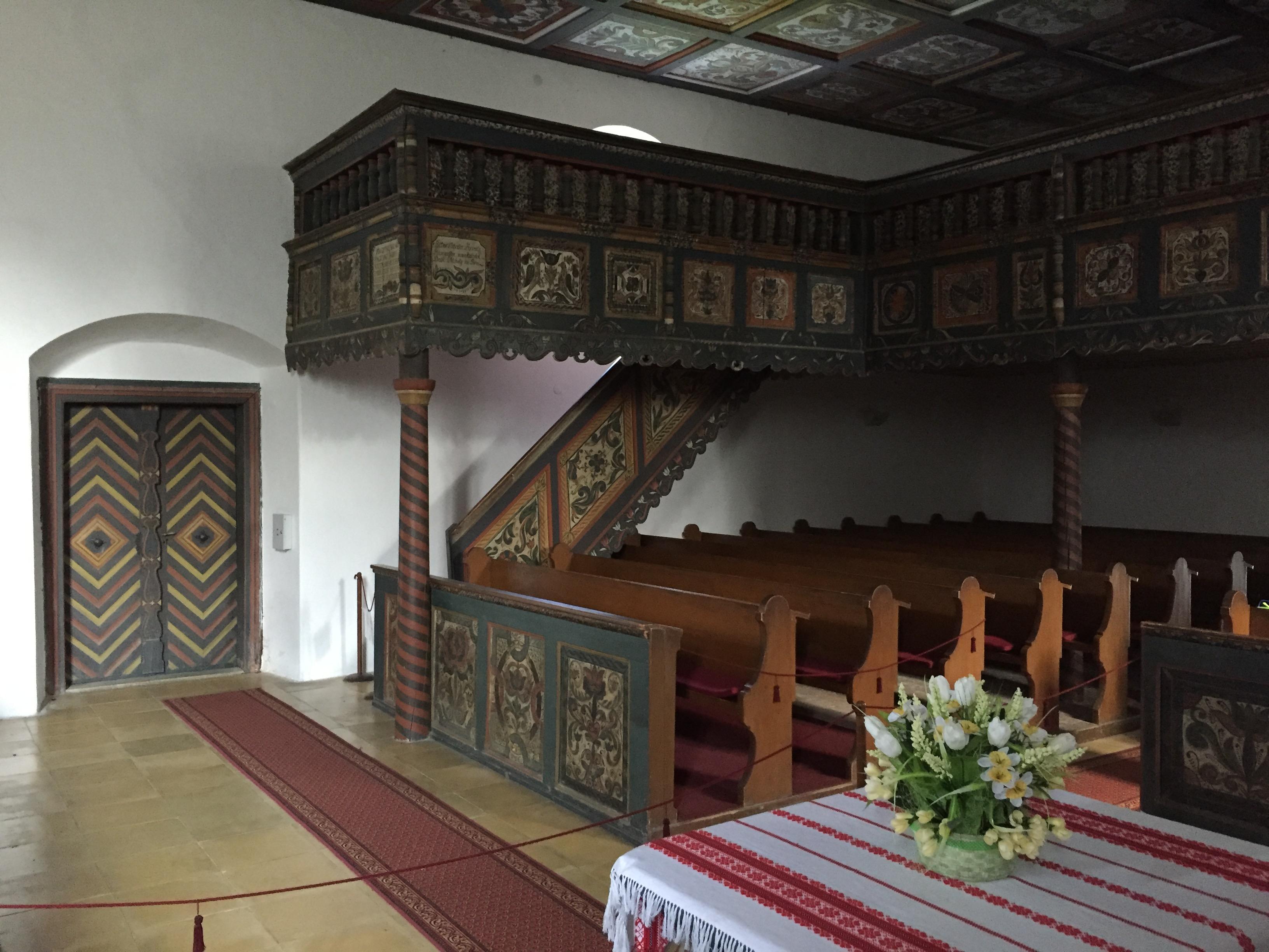 még egy kép a Szennai templomról