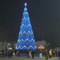Kié volt a legmagasabb újévi fa?