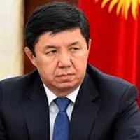 Lemondott a kirgíz miniszterelnök