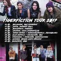 Tigerfiction Balkán turné 2017.
