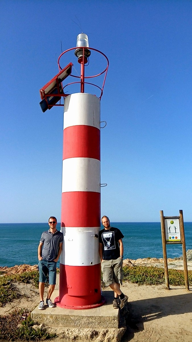 Portugália legkisebb világítótornya :)