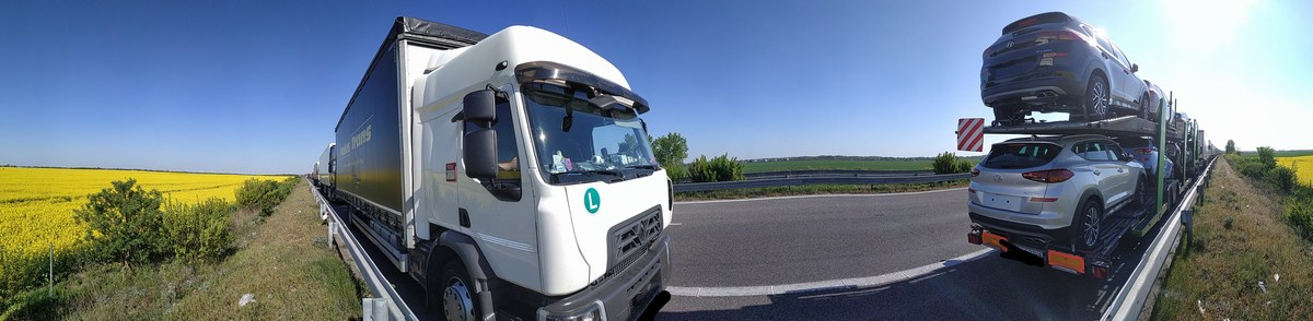 Kamionvezetés - Meglepkék - Fogyni vezetés teherautó