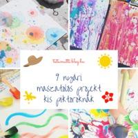 9 nyári maszatolós projekt kis piktoroknak