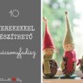 10 gyerekekkel készíthető karácsonyfadísz
