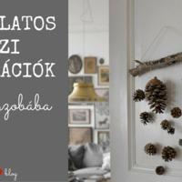 Hangulatos őszi dekorációk a gyerekszobába