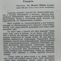 Mentes Mihály