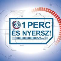Az 1 perc és nyersz! műsorral indul az RTL őszi televíziós évada