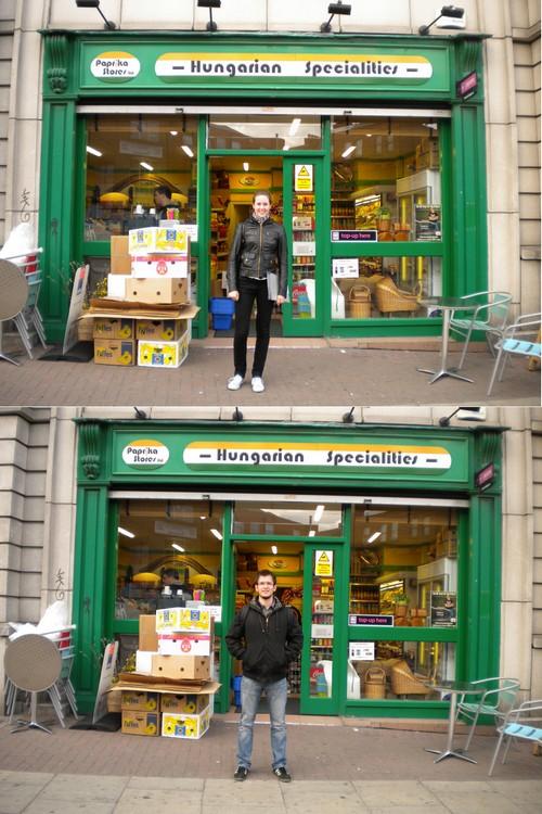 76a08d5359 A Penney's-ben találtunk Andrisnak még ingeket, én pedig vettem egy  ugyanolyan 4 eurós fekete cipőt, amilyenem már van, de hazavittem és  otthonhagytam és ...