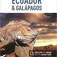 Insight Guides: Ecuador & Galápagos Books Pdf File