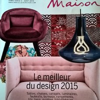 Lapszemle: Fotelek a Marie Claire Maison 2015 design válogatásából