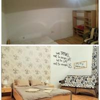 Elkészült az airbnb célú két kislakás! - Mickey lakásáról fotók előtte - utána