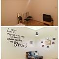 Elkészült az airbnb célú két kislakás! - Jerry lakásáról fotók előtte - utána