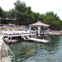 Varázslatos lounge terasz Hvar szigetén