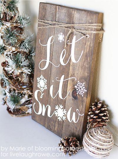Ötletek téli dekoráció készítéséhez
