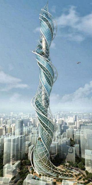 Amikor a modern építészet kreatív I.