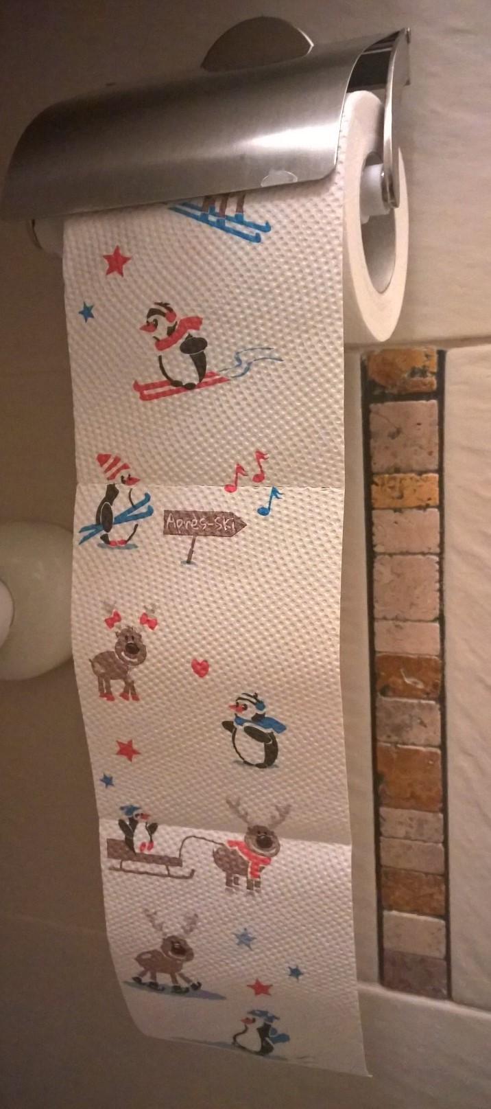 A WC papír is okozhat mosolyt