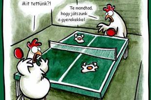 Hétvégi fárasztó csirkepoénok
