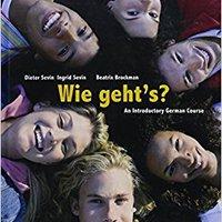 Bundle: Wie Geht's?, 10th + ILrn™ Heinle Learning Center Printed Access Card Book Pdf