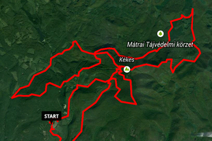 Mátra -Kis Péter TT - 51 km