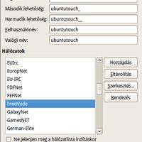 Xchat telepítése és beállítása Ubuntu 10.04 alatt .: